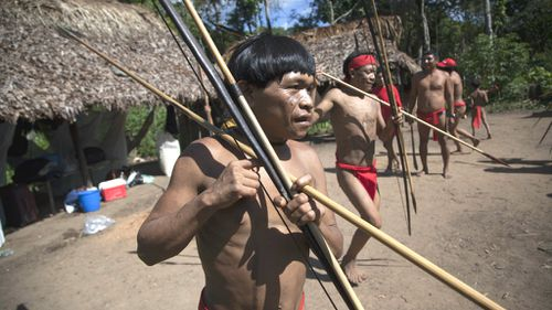 Remote Brazilian tribe buries blood samples taken by US researchers
