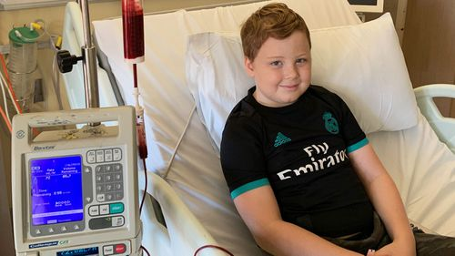 Josh has been undergoing immunosuppressive therapy after it was discovered his siblings were not a match for a bone marrow transplant.
