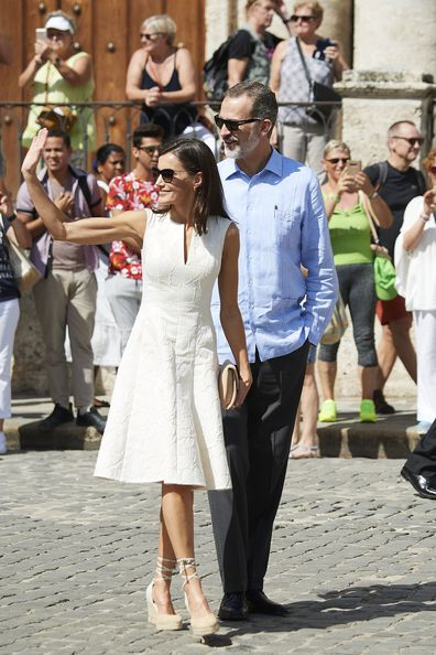 Spain's King Felipe and Queen Letizia arrive in Cuba for historic and controversial royal tour