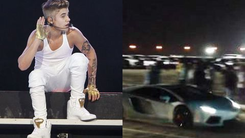 Justin Bieber snapped by six (!) speed cameras in a row in Dubai