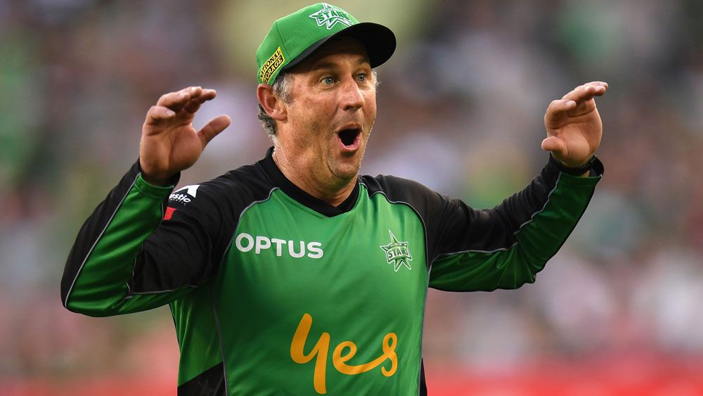 Melbourne Stars captain David Hussey might not return for the BBL next summer. (AAP)