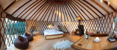4. Stunning views from warm cosy yurt – Motueka Valley, Tasman