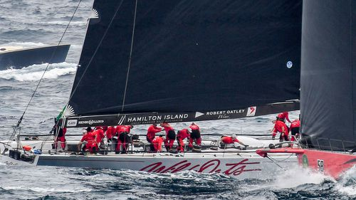 Wild Oats XI has broken the Sydney to Hobart race record. (AAP)