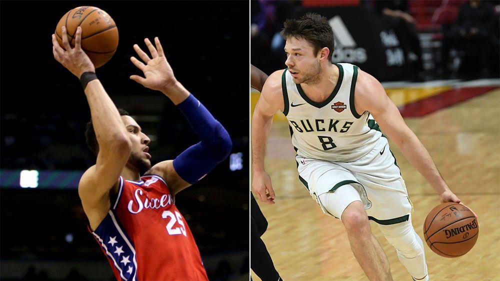 Matthew Dellavedova sparks Milwaukee Bucks against Ben Simmons' Philadelphia 76ers
