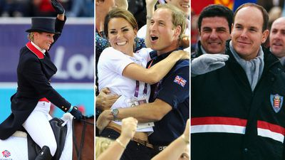Royals with personal ties to the Olympics