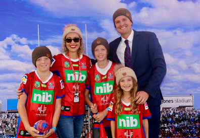 Kirralee says the foundation has become 'part of the family'.