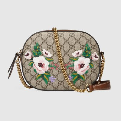 "<p>5. <a href=""https://www.gucci.com/au/en_au/pr/women/handbags/womens-shoulder-bags/exclusive-gg-supreme-mini-chain-bag-p-409535K8KAG8315?position=11&listName=ProductGridComponent&categoryPath=Gifts/Gifts-for-Her"" target=""_blank"">Gucci</a> exclusive GG mini-chain bag, $1,355</p> <p>Nothing screams of-the-moment louder than current season Gucci.<br /> </p>"