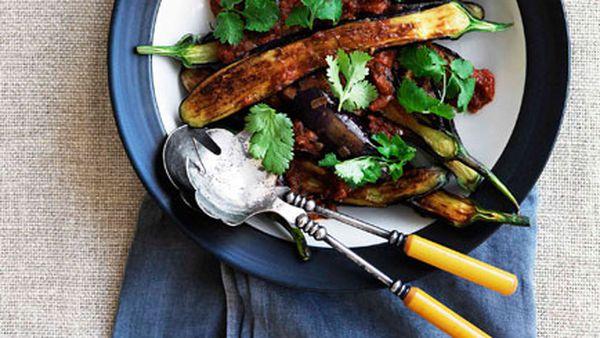 Eggplant pachadi