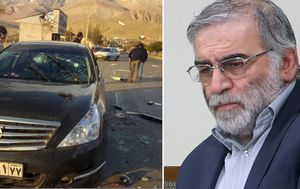 Assassinated Iranian scientist killed by 'remote-controlled machine gun'