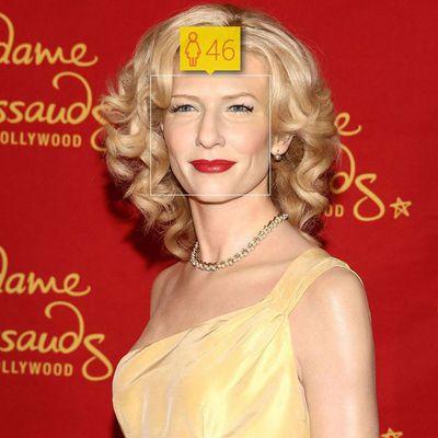 <p>Cate Blanchett, 45</p>
