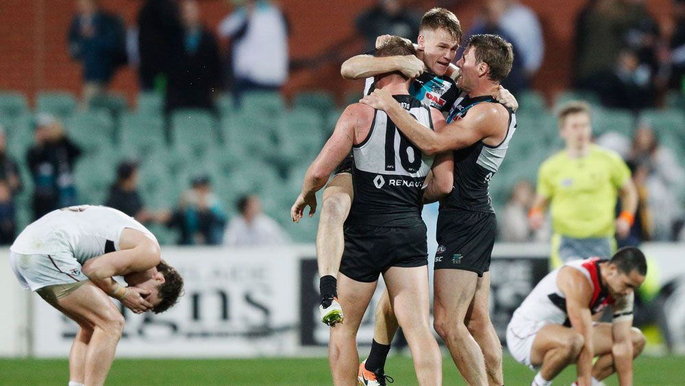 Port Adelaide pip Saints for tight AFL win