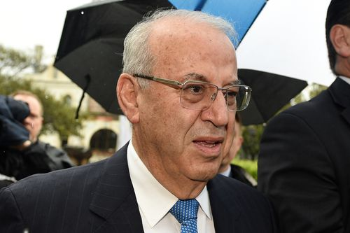 Eddie Obeid arrives at the NSW Supreme Court in 2016. (AAP)
