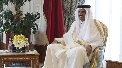 Emir Sheikh Tamim bin Hamad Al Thani of Qatar