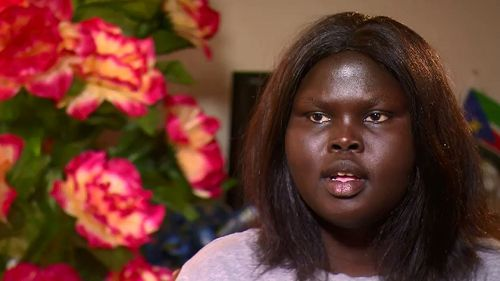 Teenager Alakiir Deng said she was worried the Sudanese community was being targeted in Melbourne.