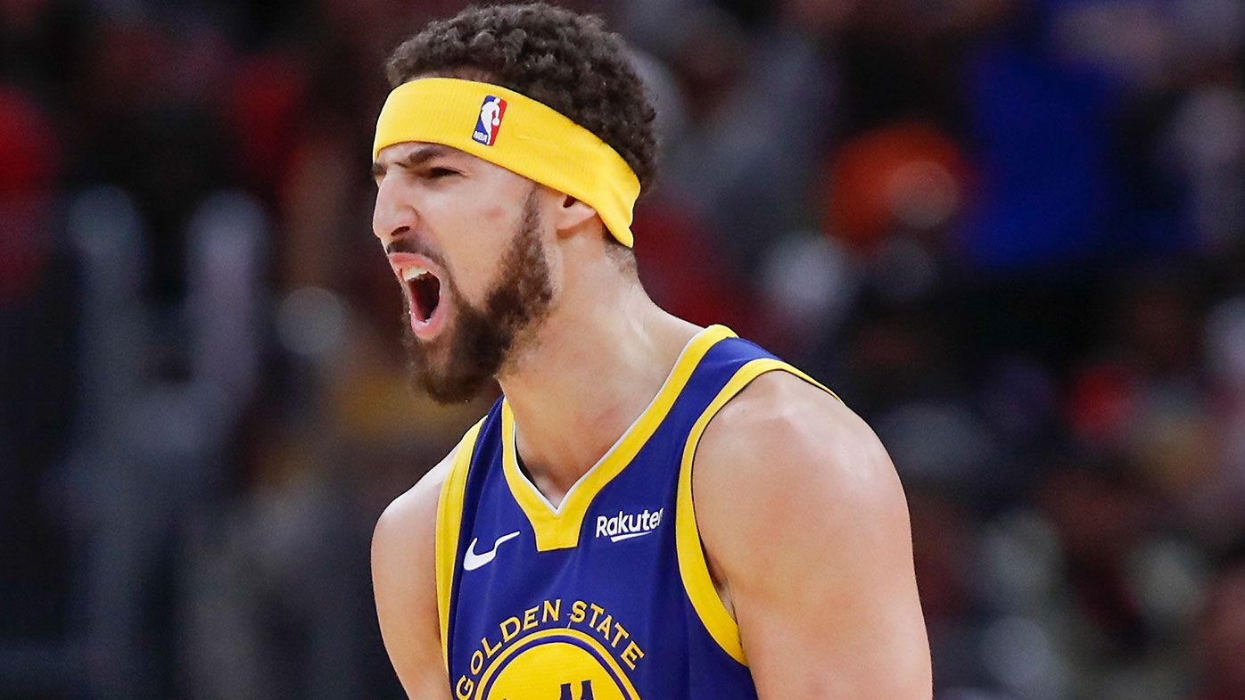 Klay Thompson shatters Stephen Curry's three-point record in spectacular shooting display