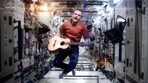 'Space Oddity' astronaut Chris Hadfield to release album recorded in space