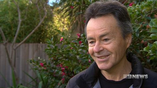Brad Martell has been feeding birds for the last two decades. (9NEWS)