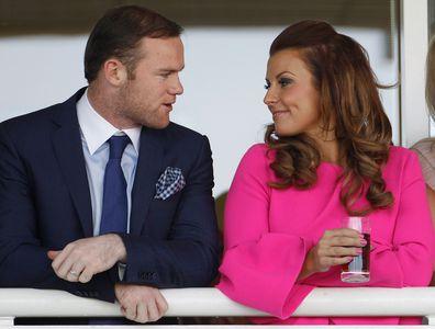 Wayne and Colleen Rooney.