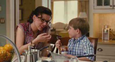 The Nanny Diaries movie scene with child
