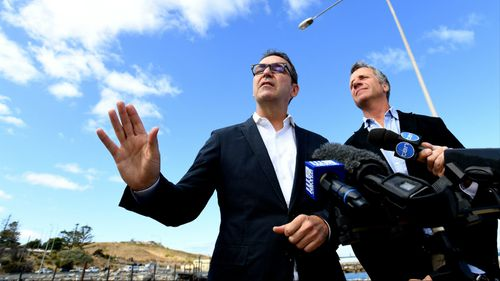 Steven Marshall could become the first Liberal premier of South Australia since 2002. (AAP)