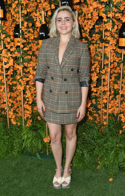 Mae Whitman arrives at the 9th Annual Veuve Clicquot Polo Classic event in Los Angeles, October 6, 2018