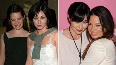 Shannen Doherty, Holly Marie Combs, 19th Annual St. Judes Gala, 1999,  Us Weekly's Hot Hollywood party 2012