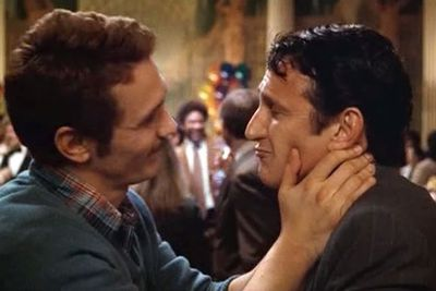 In <i>Milk</i>, James Franco plays the gay love interest of the main character Harvey Milk (Sean Penn) and wears a fake penis in the handful of nude love scenes the pair are featured in together.