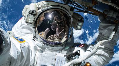 <p>Feb 24 2015</p><p>Astronaut Barry Wilmore has captured a portrait for the mantelpiece, having his photo taken during a spacewalk by his colleague Terry Virts. </p><p> The two donned spacesuits to lay power cables along the outside of the US portion of the International Space Station so that communications craft launching from Florida from 2017 will be able to dock there. </p><p> The photo was taken on Saturday during the first of three spacewalks to complete the work, with a further two scheduled for tomorrow and Sunday, March 1. </p><p> Astronaut Barry Wilmore has captured a portrait for the mantelpiece, having his photo taken during a spacewalk by his colleague Terry Virts.  The two donned spacesuits to lay power cables along the outside of the US portion of the International Space Station so that communications craft launching from Florida from 2017 will be able to dock there.  The photo was taken on Saturday during the first of three spacewalks to complete the work, with a further two scheduled for tomorrow and Sunday, March 1. </p>  <p>Click through for more <b>high-stakes selfies that didn't really need to be taken</b>. </p>