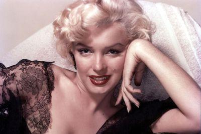 Marilyn Monroe, the beautiful bombshell.