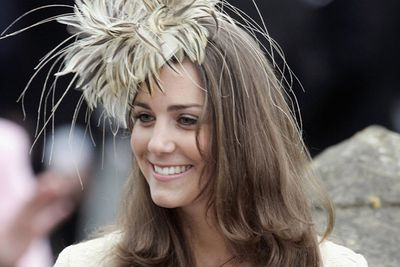 Kate proved she was quite the fashionista when she attended the wedding of Camilla Parker Bowles' daughter, Laura, in 2006.