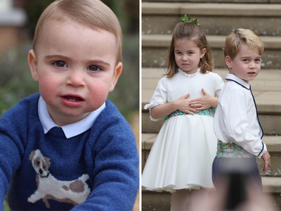 Prince Louis follows in the footsteps of George and Charlotte