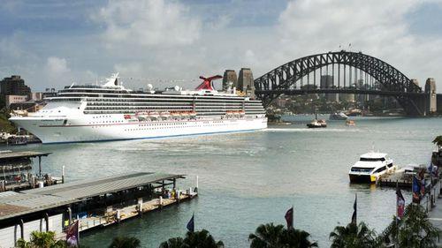 The Carnival Spirit in Sydney.