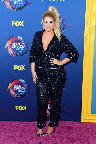 Singer Meghan Trainor at FOX's Teen Choice Awards in California, August, 2018