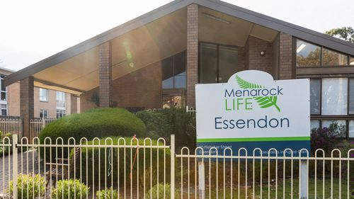 Menarock Life aged care in Essendon, Melbourne where  more than 50 COVID-19 cases have been reported