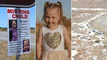 The WA government is offering a reward of up to $1 million for information that leads to the location of four-year-old Western Australian girl Cleo Smith.