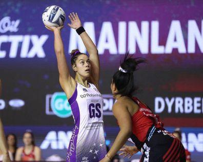 NZ netballer Maia Wilson playing