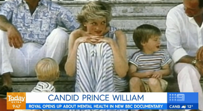 Princess Diana with kids