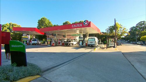 The 53-year-old man first made contact with the girl when she passing through a petrol station in Marrickville.