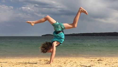 """Cooper now calls himself """"a retired acrobatic"""". (Supplied)"""