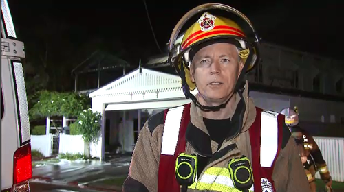 Tony Shipp from Windsor Fire Station told 9News the fire had spread to multiple levels of the property.