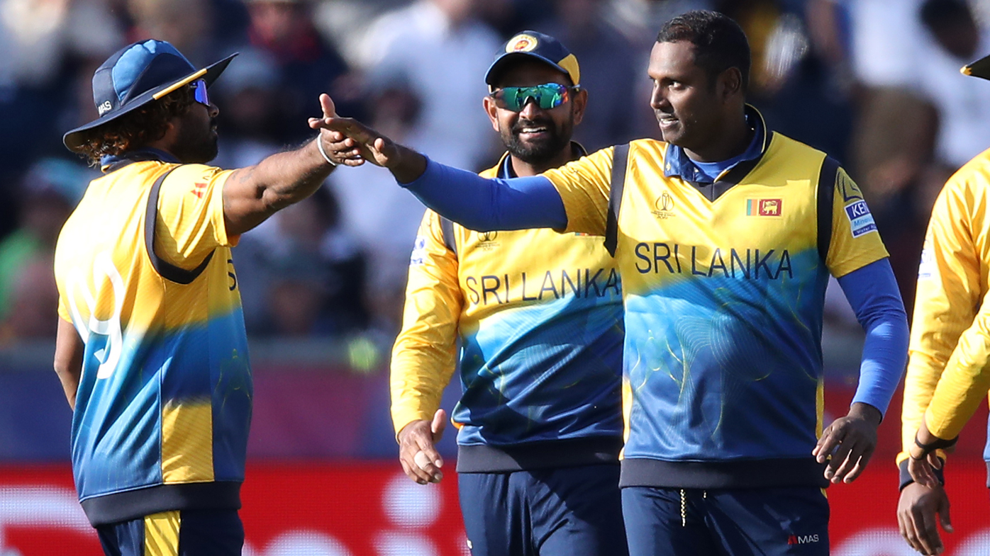 Angelo Mathews' golden arm seals tense Sri Lanka victory over West Indies
