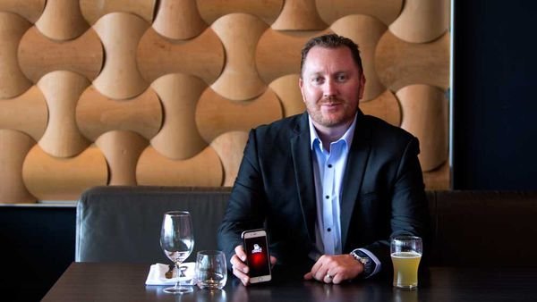 Rodney Cohan, creator of the smartphone app Drinkz. Image: Supplied
