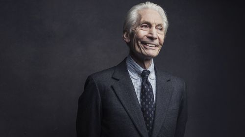 Charlie Watts of the Rolling Stones poses for a portrait on Nov. 14, 2016, in New York.