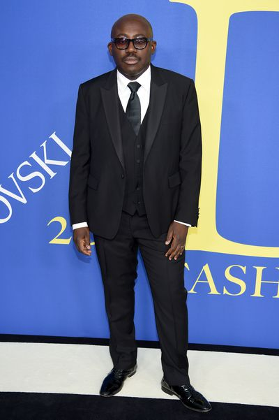 British Vogue editor-in-chief Edward Enniful at the 2018 CFDA Awards