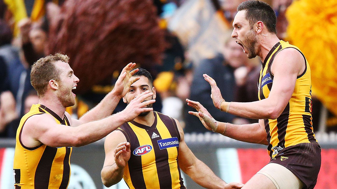 James Worpel steps up late to give Hawthorn win over Essendon