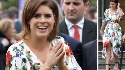 Princess Eugenie steps out in floral