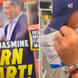 Karl Stefanovic laughs off claims about him and Jasmine