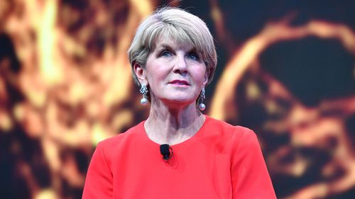 Julie Bishop says Julia Banks' defection shines a light on the Liberal Party's issues with women.