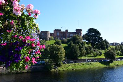 Inverness Castle - also note: no clouds. September is a great time to visit.