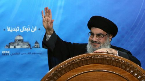 Hezbollah wants supporters to stop shooting in speeches